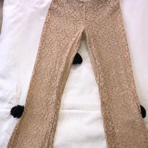 Vintage sequin bell bottom pants 45.00